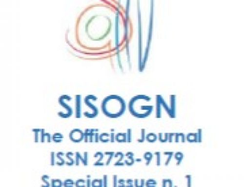 Issue n. 1 – December 2019 – Special Issue March 2020 – SISOGN – The Official Journal – ISSN 2723-9179