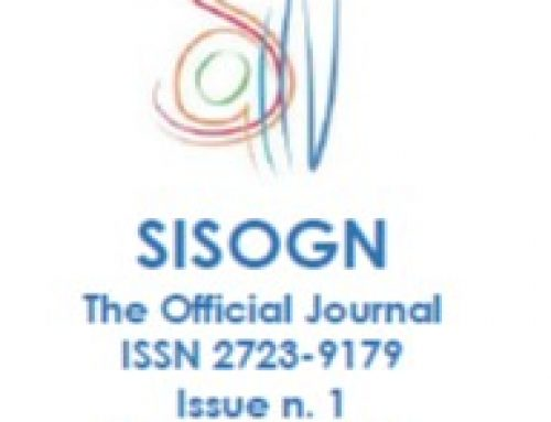 Issue n. 1 – December 2019 – SISOGN – The Official Journal – ISSN 2723-9179