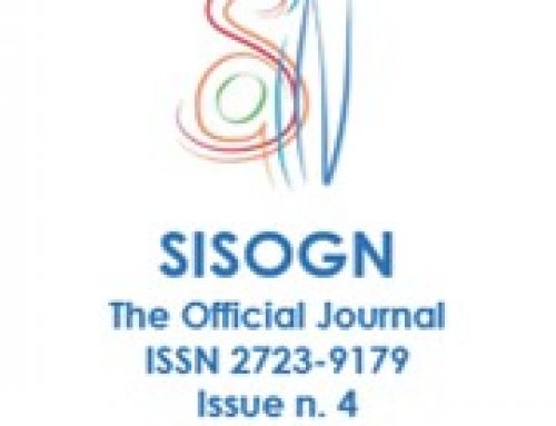 Issue n. 4 – June 2021 – SISOGN – The Official Journal – ISSN 2723-9179